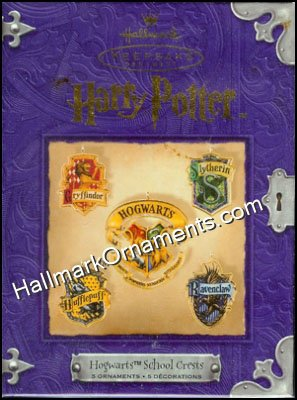 2001 Harry Potter, Hogwarts School Crests, RARE