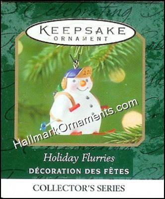 2001 Holiday Flurries #3, Miniature