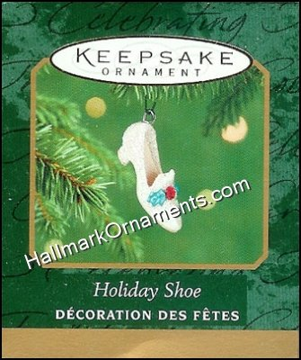 2001 Holiday Shoe, Miniature
