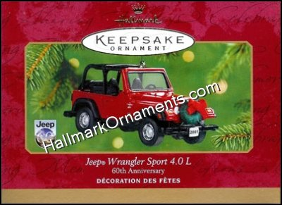 2001 Jeep Sport Wrangler 60th  Anniversary Edition