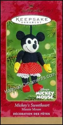 2001 Mickeys Sweetheart, Disney