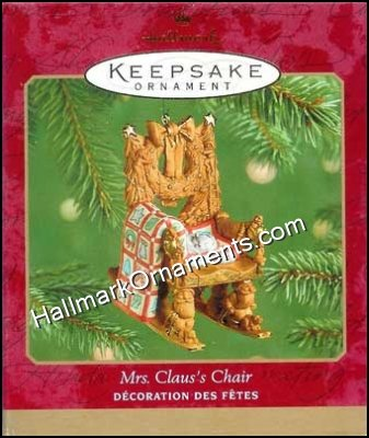 2001 Mrs Claus Chair