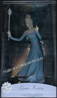2001 Queen Aurora Tree Topper, Frostlight Faeries