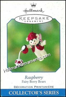 2001 Raspberry, Fairy Berry Bears #3