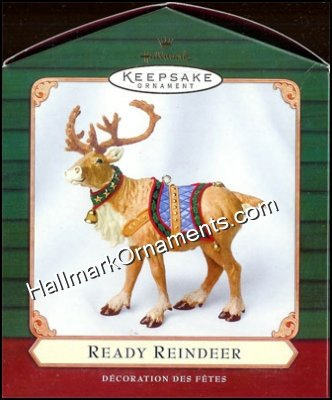 2001 Ready Reindeer, The Night Before The Night Before Christmas
