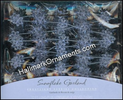 2001 Snowflake Garland, Frostlight Faeries