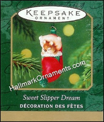 2001 Sweet Slipper Dream, Miniature