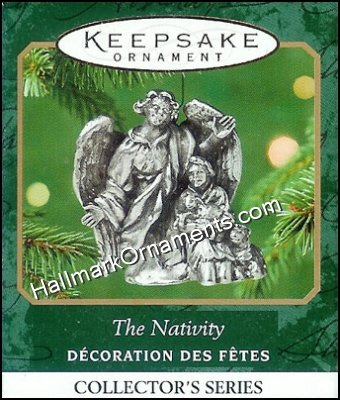 2001 The Nativity #4, Miniature