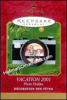 2001 Vacation, Camera, Photo Holder