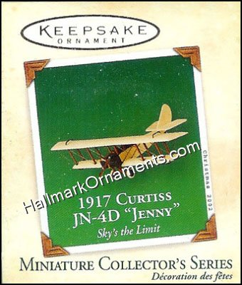 2002 1917 Curtiss JN-4D Jenny, Sky's the Limit Miniature #2