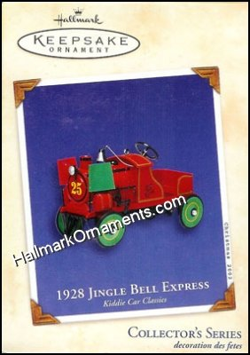 2002 1928 Jingle Bell Express, Kiddie Car Classics #9