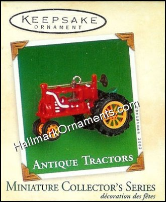 2002 Antique Tractors #6, Miniature