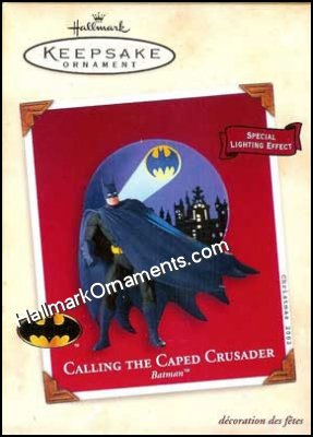 2002 Calling the Caped Crusader, Batman, Super Heroes