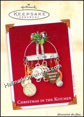 2002 Christmas In The Kitchen - RARE