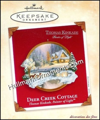 2002 Deer Creek Cottage, Thomas Kinkade
