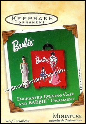 2002 Enchanted Evening Case Barbie, Miniature