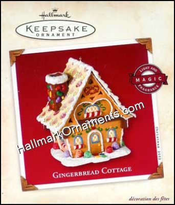 2002 Gingerbread Cottage - DB