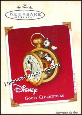 2002 Goofy Clockworks, Disney