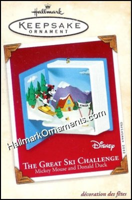 2002 Great Ski Challange, Disney