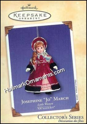 2002 Josephine Jo March, Madame Alexander Little Women #2