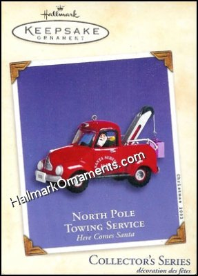 2002 North Pole Towing Service, Here Comes Santa #24