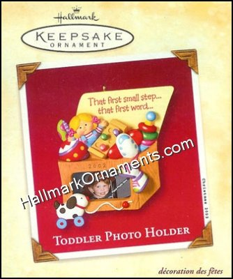2002 Toddler - Photo Holder
