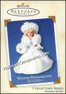 2002 Winter Wonderland, Madame Alexander #7