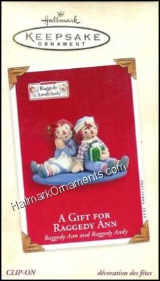 2003 Gift for Raggedy Ann