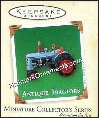2003 Antique Tractors #7, Miniature