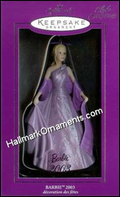 2003 Barbie, Club Ornament
