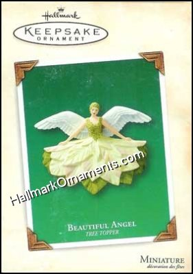 2003 Beautiful Angel, Miniature Tree Topper