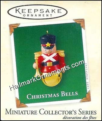 2003 Christmas Bells #9, Toy Soldier