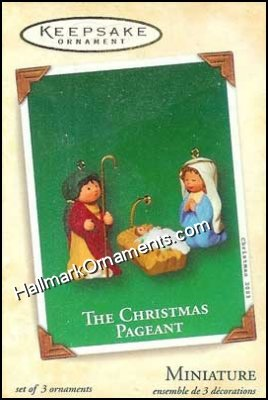 2003 Christmas Pageant, Miniature