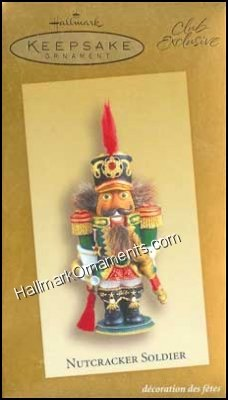 2003 Nutcracker Soldier, Club Ornament
