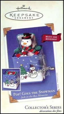 2003 Pop Goes the Snowman, Jack in the Box Memories #1