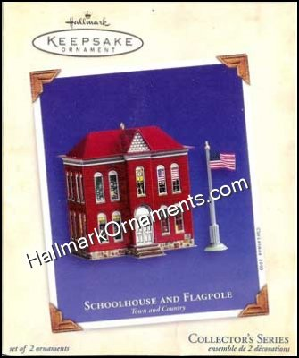 2003 Schoolhouse and Flagpole, Town and Country #5