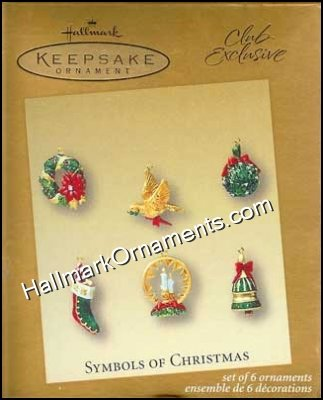 2003 Symbols of Christmas, Club Ornament Set