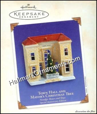 2003 Town Hall and Mayor's Christmas Tree, Nostalgic Houses & Shops