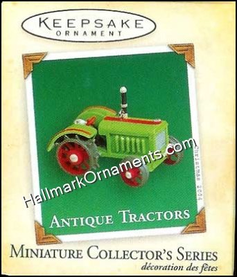 2004 Antique Tractors #8, Miniature