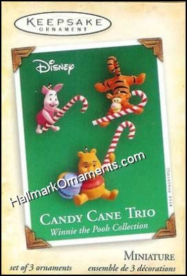 2004 Candy Cane Trio, Winnie the Pooh Collection