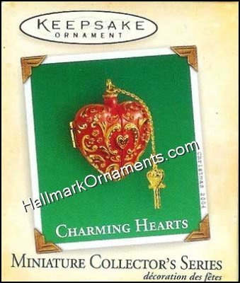 2004 Charming Hearts #2, Miniature
