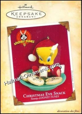 2004 Christmas Eve Snack, Tweety, Looney Tunes