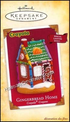 2004 Gingerbread Home, Crayola