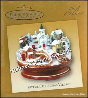 2004 Joyful Christmas Village, Club