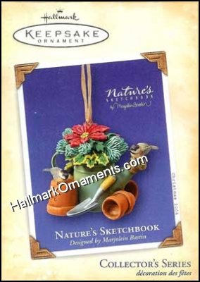 2004 Nature's Sketchbook #2, Marjolein Bastin