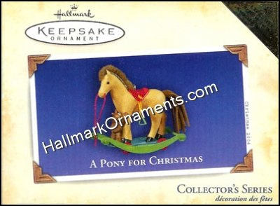 2004 A Pony  for Christmas #7, COLORWAY