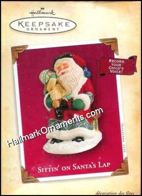 2004 Sittin on Santa's Lap, Recordable