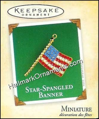 2004 Star-Spangled Banner, Miniature