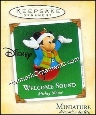 2004 Welcome Sound, Disney, Miniature