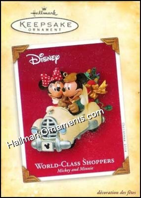2004 World Class Shoppers, Disney - RARE